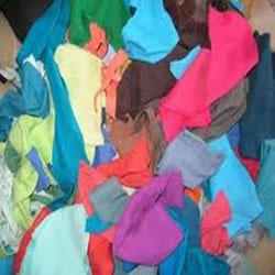 MIXED COLOUR WASTE COTTON CLOTH