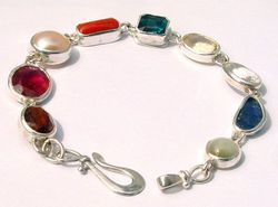 Navratna Stone Bracelet