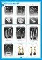 3 D Engraving Crystal Trophies