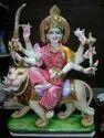 Marble Durga Ma Statue