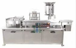Automatic Two Head Liquid Vial Filling Machine