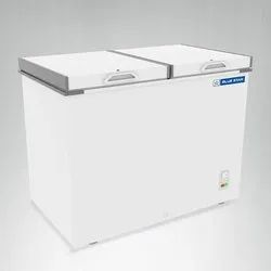 White Stainless Steel Blue Star Deep Freezer, Size: Large, Automatic Grade: Automatic