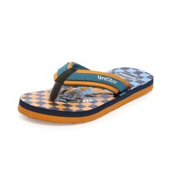 Boys Orange Casual Slippers