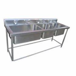 SS Dishwashing Kitchen Sink