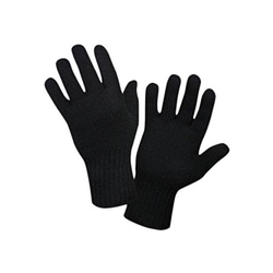 Cotton Black Gloves