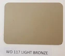Wd-117 Light Bronze ACP Sheets
