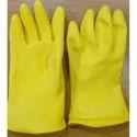 Plain Unisex Pvc Unlined Hand Gloves, Finger Type: Full Fingered, For Industrial