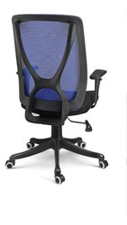 Black Rotatable Medium Back Hydraulic Chair, 5