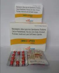 Mecobalamin 1 Alpha lipoic Acid Benfotiamin (Soft Gel)