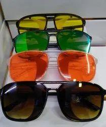 Round Mix Sunglasses