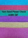 Yarn Dyed Pineer Check