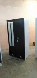 Rangoli Powder Coated Double Door Steel Cupboard, For Home