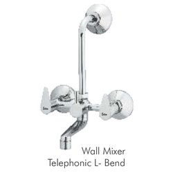 Silko Zara Collection 2 in 1 Wall Mixer Telephonic L Bend, For Bathroom Fittings