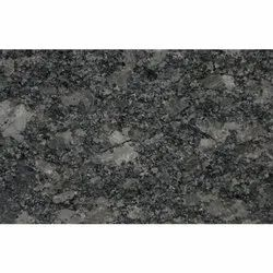 Steel Grey Granite Slab, Thickness: 16 Mm