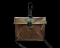 Hv Brown Single Handle Designer Leather Sling Bag, Packaging Type: Export Quality Packing