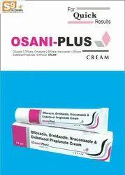 Ofloxacin 0.75%w/w, Ornidazole 2.00%w/w, Itraconazole 1.00%w/w,  Clobetasol Propionate  0.05%w/w