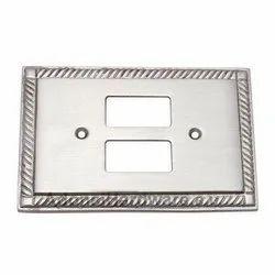 2 Small Decora Georgian Switch Plate
