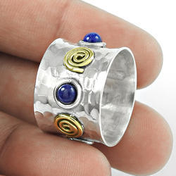 Fantastic 925 Sterling Silver Lapis Ring
