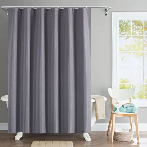 Plain 72 X 84 Inch Grey Solid Wave, 84 In Curtains