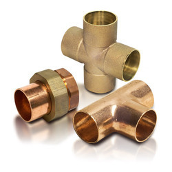 BRASS METAL PIPE FITTING