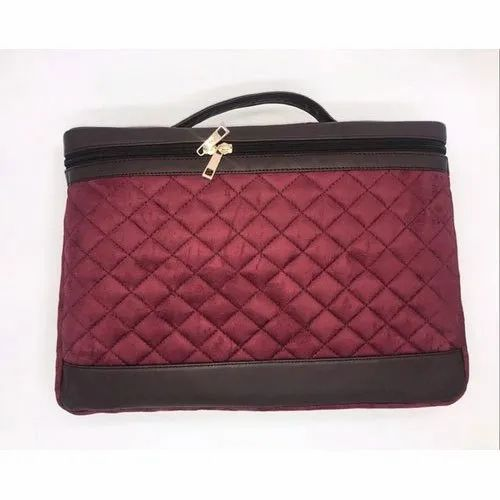 Available In Maroon And Blue Ladies Designer Laptop Bag 3e82233e6