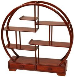 Decorative Wooden Bookshelf