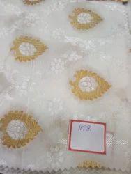 Viscose Tussar Butta Fabrics