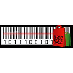 Retail Business Barcode Label