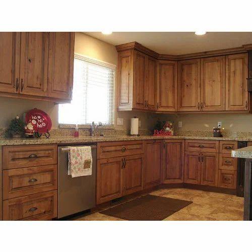 Brown Wooden Kitchen Cupboard, Rs