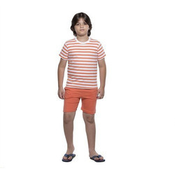 Half Sleeve Clifton Boys Small Stripes Short Set
