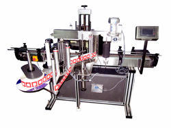 Compact Double Side Vertical Labeling Machine