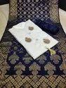 Cotton Unstitched Handwork Suits