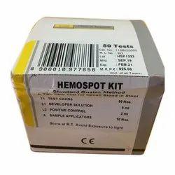 Card Rapid Hemospot Kit, Result Time: 3 Min