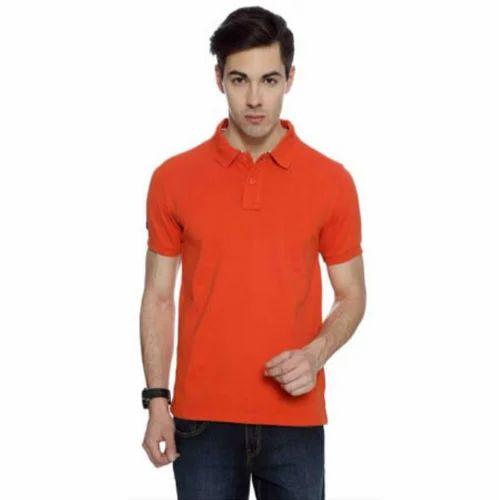 e728b630 Us Polo Collared Cotton T Shirt (men/women) Orange