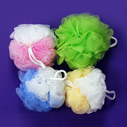 SM Multicolor Loofah, Pack Size: 100 Pieces, For Cleaning Body