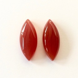 Red Onyx Gemstone Cabochons