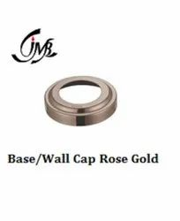 Stainless Steel Base/Wall Cap Rose Gold