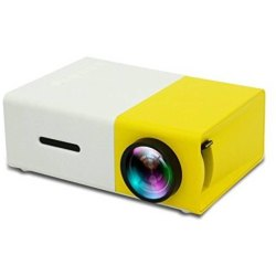 Portable Mini Home Theater LED Projector with Remote Controller
