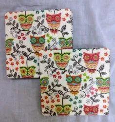 Tea Coasters In Owl Design