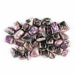 Natural Charoite Gemstones Tumbles