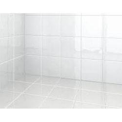 Somany White Bath Room Wall Tile, 10-15 mm