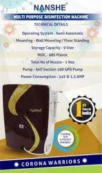 Manual Hand Pump Sanitizer Dispenser