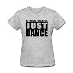 Girls Cotton Dance T-Shirts, Size: 20 to 40