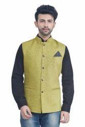 Velvet Style Nehru Jacket Waistcoat