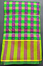 Arni sarees Polyester + model multi sarees, 6.3 m (with blouse piece)