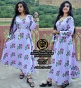 Ladies Cotton Printed Kurti