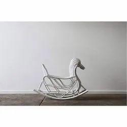 Cane IRA Furniture Kid's Duck Rocking Chair
