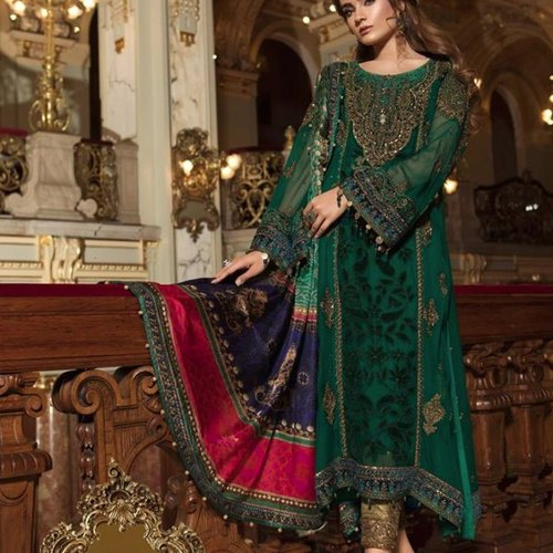 b1bda8bfed Chiffon Wedding MARIA B Mbroidered Original Pakistani Suits, MARIA B  Mbroidered Original ,pakistan