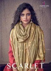 Angroop Plus Scarlet Plazzo Style Salwar Kameez Catalog at Textile Mall