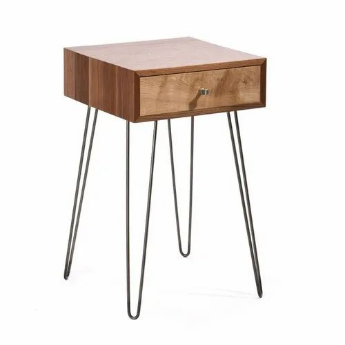 huge discount 48006 460a2 Hairpin Leg Bedside Table
